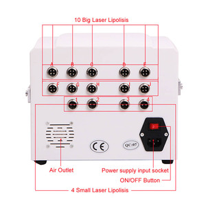Image 4 - Portable Home Lipolaser Professional Slimming Machine 10 largepads 4 smallpad Lipo Laser Beauty Equipment Device for Weight Loss
