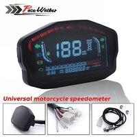 Motorcycle Universal LED LCD Speedometer Digital Odometer Backlight For 2,4 Cylinders For BMW Honda Ducati Kawasaki Suzuki
