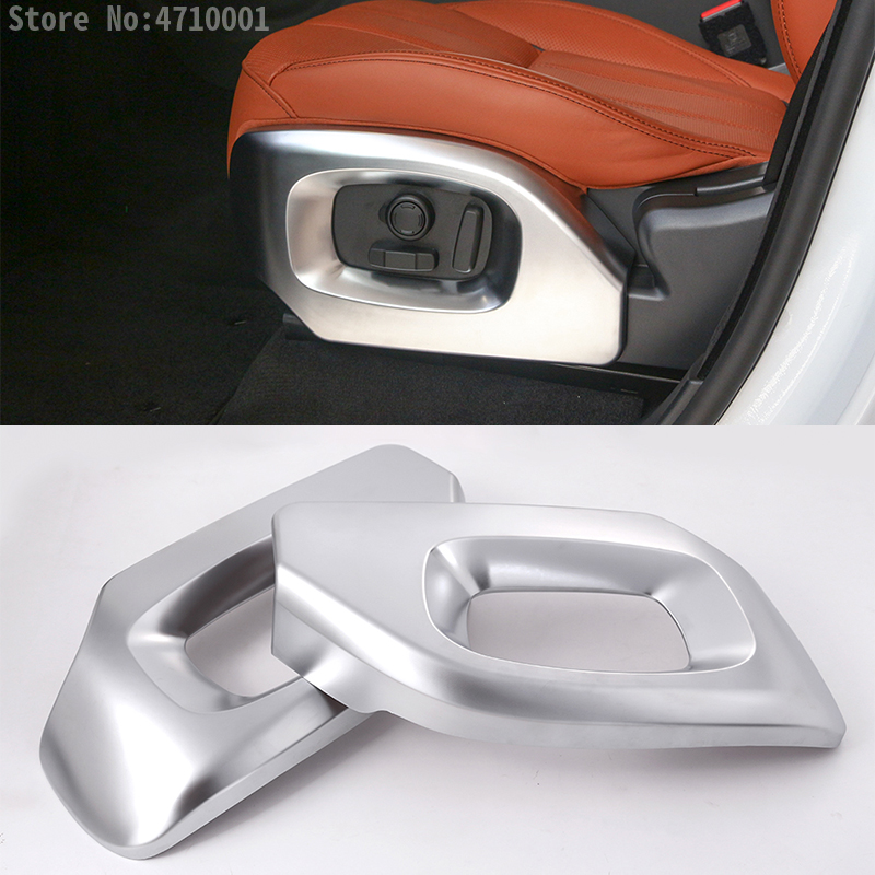ABS Chrome Car Seat Side Cover Trim Accessories For Land Rover Range Rover Vogue Autobiography For Range Rover Sport 14-17