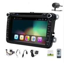 Free Camera Include VW Radio Car DVD Player GPS Android CD Navigation WiFi USB Map 3G Bluetooth TV In dash 2Din Universal
