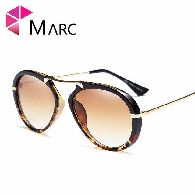 026dd081eb MARC UV400 2018 NEW WOMEN MEN Square sunglasses Plastic Fashion Designer  Pink Black Leopard print oculos White sver