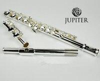 Taiwan JUPITER JFL 511ES 16 Holes Closed C Key Flute Cupronickel Silvering flauta transversal instrumentos musicales Case