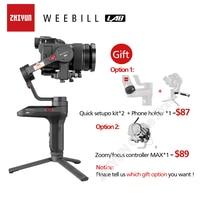 Zhiyun Weebill лабораторная камера стабилизатор беспроводной передачи изображения для беззеркальной камеры ручной 3 осевой карданный vs кран 3