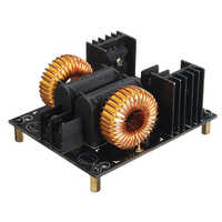 ZVS 1000W 20A Heater Induction Board Unit Power Heating Module Low Voltage For Flyback Driver With Coil DIY Parts Double Layer