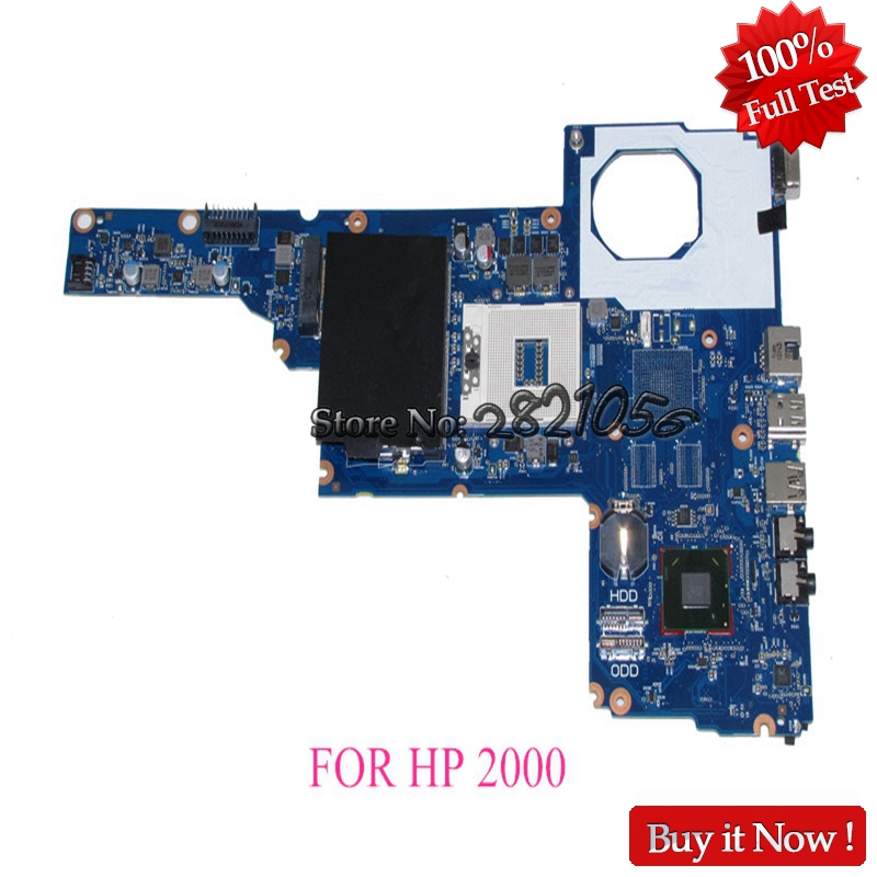 NOKOTION Laptop Motherboard For Hp 2000 450 Main Board 685107-001 685107-501 J8F DDR3 Full tested nokotion main board for hp pavilion dm4 dm4 2000 laptop motherboard 636944 001 hm65 hd6470 ddr3