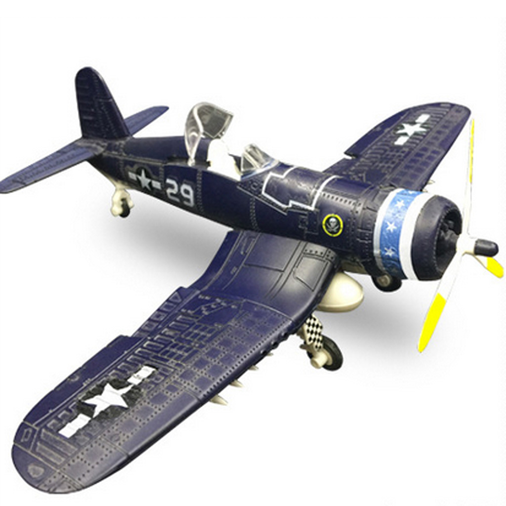 DIY Accessory 1/48 Plastic American Vought F4U Model Warcraft Toy Plane Art Craft 6x