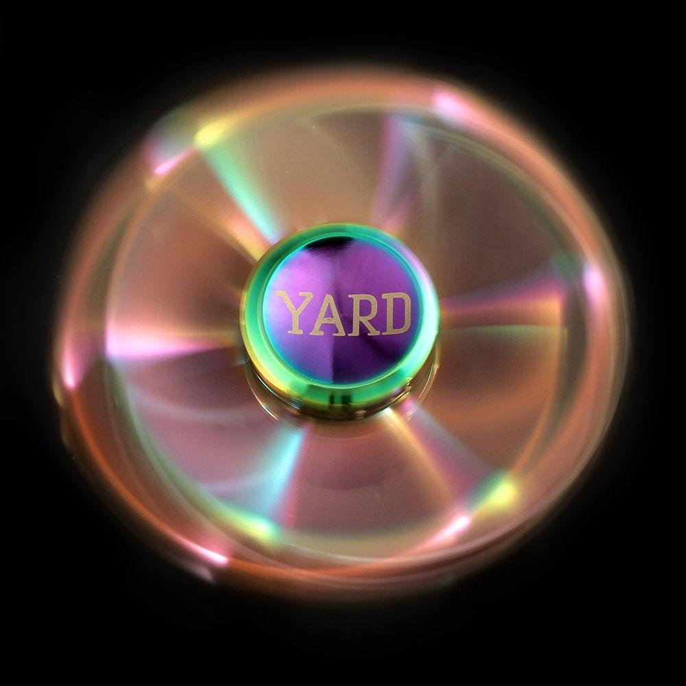 YARD Kolorowe Fidget Spinner Spinner Spinner Tęcza Ręcznie Spinner - Zabawki antystresowe - Zdjęcie 6