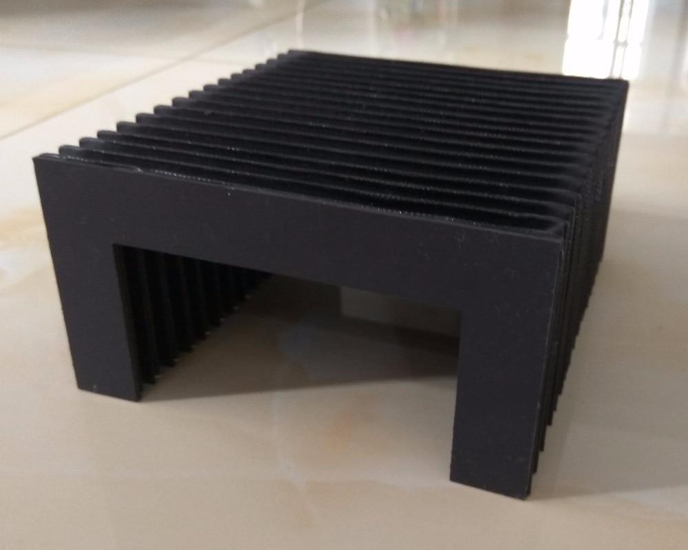 Flexible akkordeon schutz, U typ, OW = 270mm, OH = 45mm, offene länge 300mm-in Werkzeugmaschinenspindel aus Werkzeug bei AliExpress - 11.11_Doppel-11Tag der Singles 1