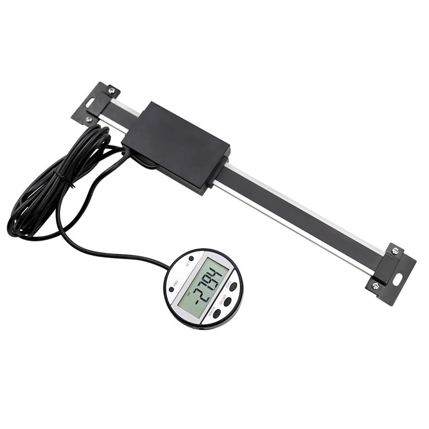 300 мм 12 цифровая индикация линейной шкалы дистанционный внешний дисплей для Bridgeport мельница токарный станок датчик перемещения станка