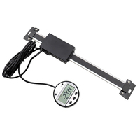 300mm 12'' Digital Readout Linear Scale Remote External Display for Bridgeport Mill Lathe Machine Tool Displacement Sensor