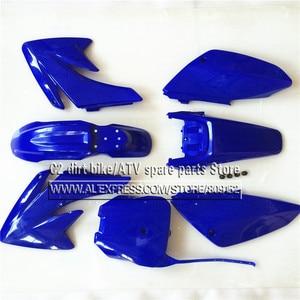 Image 3 - CRF 70 プラスチックカバーフェアリングキット CRF70 ダートピットバイク Procket バイク Xmotos バハ DR50 49 50cc 70 90 110 kayo hk 160