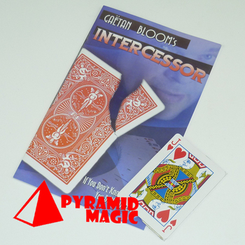 Intercessor torn corner principle / close-up street card magic trick / wholesale / free shipping image