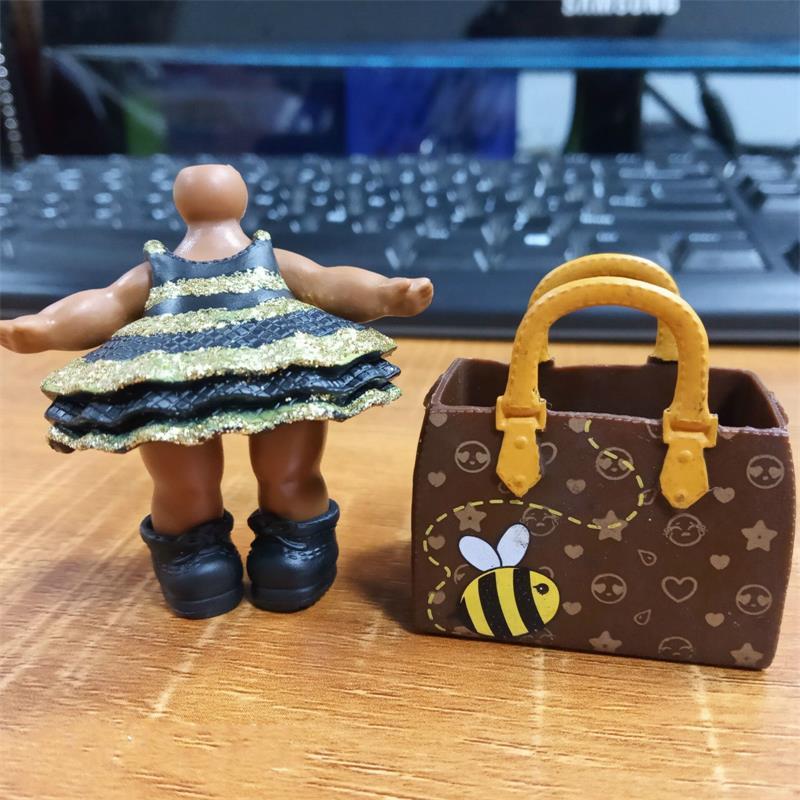 BIXE Original limitée LOL robe chaussure sac poupée pour paillettes reine abeille lol accessoires en vente Original LOL jouets collection