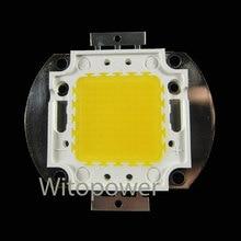 شحن مجاني 50 واط عالية الطاقة LED Wram الأبيض 5000LM 50 واط LED المصباح الكهربي رقاقة