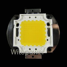 Free Shipping 50W High Power LED Wram White 5000LM 50 Watt LED Lamp Bulb Chip