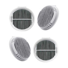 4Pcs Hepa Filter For Xiaomi Roidmi Wireless F8 Smart Handheld Vacuum Cleaner Replacement Efficient Hepa Filters Parts Xcqlx01Rm 1 set high quality vacuum cleaner filters hepa part for samsung cup sc43 sc47 series vacuum cleaner dust filter