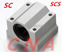Frete Grátis SC30UU SCS30UU para 30mm trilhos lineares unidades de slides bola movimento linear CNC peças Lineares guias