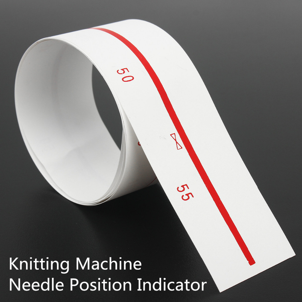 Knitting Machine Needle Position Indicator Strip Ruler For 9mm Gauge For Brother And Other Knitting Machine Accessories Parts