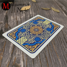 RED BLUE 54pcs/set Waterproof Durable PVC Scrub Plastic Playing Cards Novelty Poker Card Texas Board Game Family Entertainment