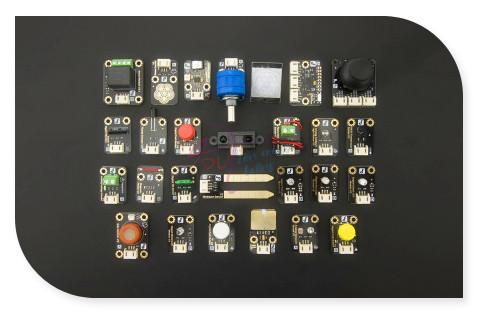 DFRobot 100% versión Mejorada de Alta Calidad Genuino Gravedad Serie 27 Unids Set Sensor para Arduino