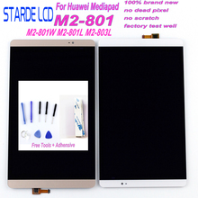 Starde LCD 8.0 for Huawei Mediapad M2 LCD M2-801L LCD Display M2-801 M2-801W M2-803L Matrix Screen Touch Screen Sensor Replace цена и фото