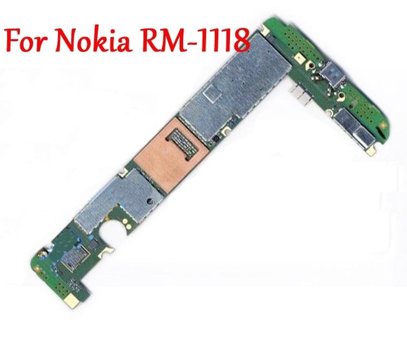 Full Work Original Unlock Mobile Electronic panel Motherboard Logic Circuits For Nokia Lumia 950 RM 1118
