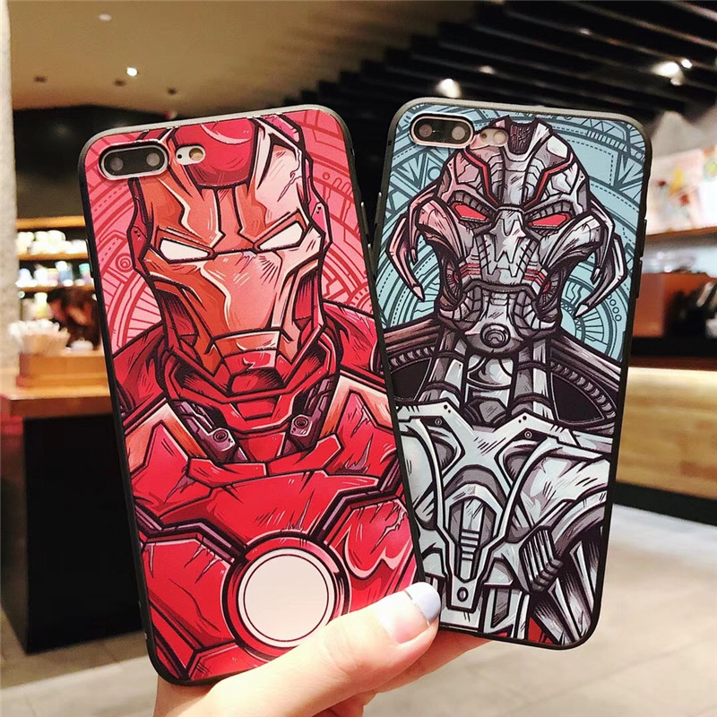 Cheap for all in-house products iphone 7 iron man in FULL HOME
