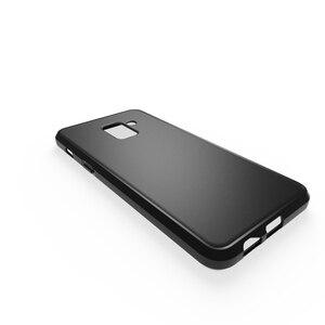 Image 4 - Чехлы для Samsung Galaxy A6 2018, Мягкий Силиконовый ТПУ матовый чехол для Samsung A6 Plus A6 + A6 + 2018, чехол для телефона