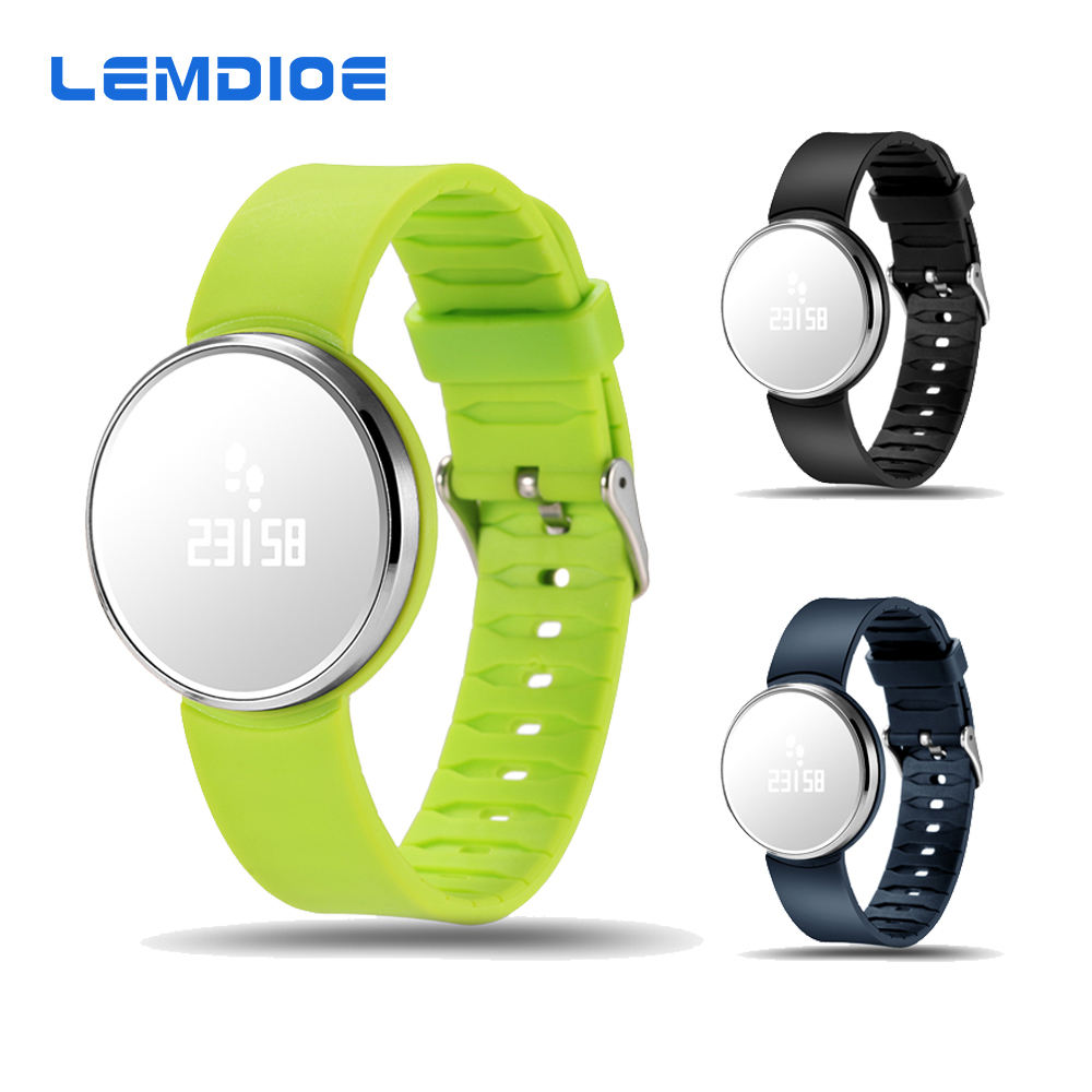 UW1S Mirror Surface Screen Bracelet Heart Rate Bluetooth Smart Band for Android