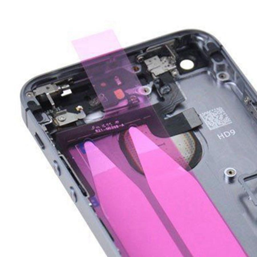 Full Back Housing For Apple iPhone 5S Battery Cover Rear Door Case ...