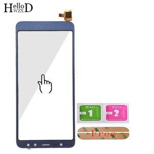 Image 4 - 5.5 טלפון נייד מגע זכוכית מסך מגע עבור Leagoo M9 מגע מסך זכוכית Digitizer פנל עדשת חיישן כלים משלוח דבק