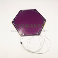 SWMAKER Delta kossel rostock Heated Bed With 170mm Cotton Pad Back FR4 DC12V 100W with SMD thermistor
