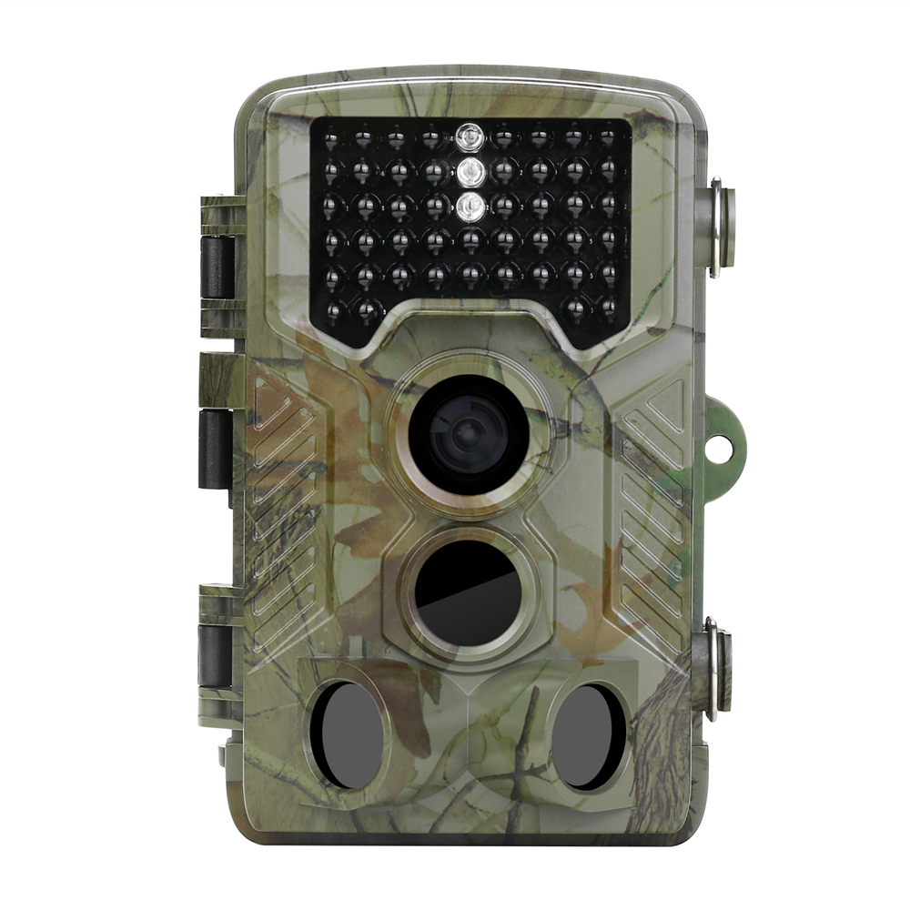 12MP 1080P HD Infrared Game Trail Camera 46Pcs IR LEDs Night Vision 2.4LCD Waterproof Hunting Scouting Digital Surveillance Cam waterproof 2 5 lcd 8 0 mp cmos solar power ir night vision hunting trail security camera
