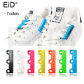 EID 1 Pair 6 Colour ShoeLaces Magnetic Shoelace Buckle Lazy Closures Lacet Chaussure Shoe Laces No to Tie lazy Shoe laces