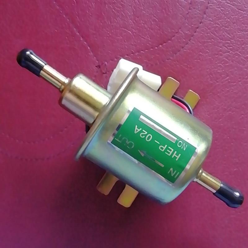 6V Electric Fuel Pump Diesel Petrol 6 Volt Universal Gas Diesel Inline Low Pressure Electric Fuel