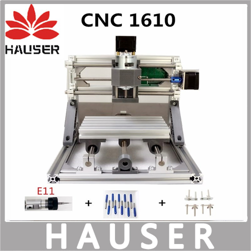 CNC Wood Rounter E11 1610 GRBL control Diy mini laser cnc engraving machine, working area 16x10x4.5 cm,3 axis Milling Machine 1610 mini cnc machine working area 16x10x3cm 3 axis pcb milling machine wood router cnc router for engraving machine