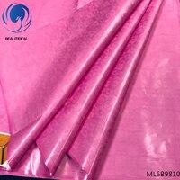 BEAUTIFICAL african bazin riche germany batik fabrics for patchwork brocade fabric free shipping 5 yards/lot Guangzhou ML6B98
