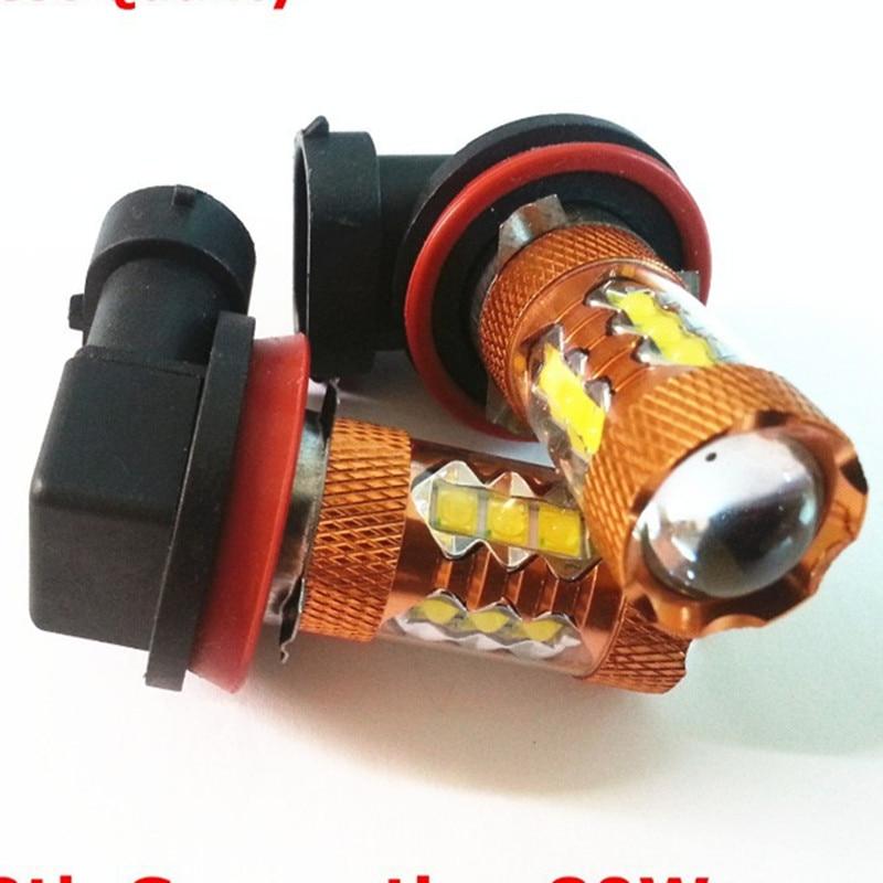 New 2x 80 Watt- Sockel H11 H8 LED 80w Canbus 80watt viel heller wie 60w 50 h11 6000-7000K Foglights/headlights(12-24V DC) 10x 5w watt 2r2 2 2 ohm 5