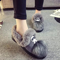 2017 Autumn Winter Fresh Women Fashion Female Ladies Cartoon Dolls Slip-On Martin Boot Mujer Shoes Ankle Flat Booties Shoes G209