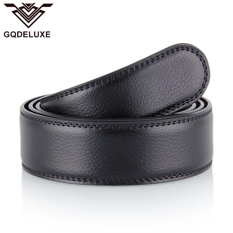 Brandnew Classic Genuine Leather   Belt   No Buckle For Men 3.5cm Wide   Belts   Without Automatic buckles Quality Guarantee 30days use