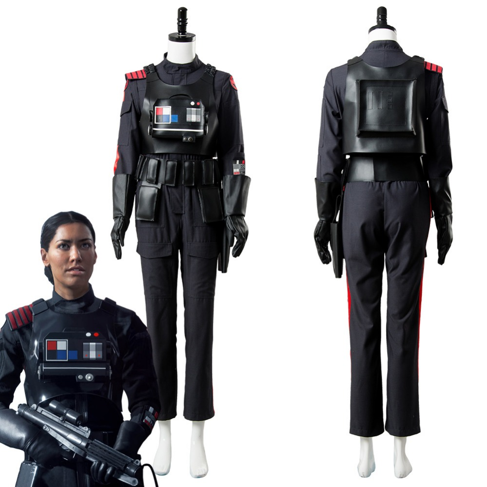 Star Wars Battlefront 2 Iden Versio Suit Cosplay Costume Inferno Squad Uniform Adult Men ...