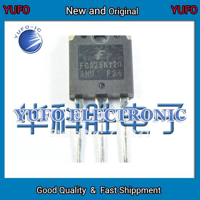 Free Shipping 10PCS the original word FGA25N120 25N120 cooker tubes (YF0831)