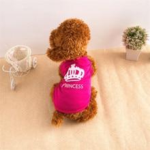 Pet Dog Cat Cute Princess T-shirt