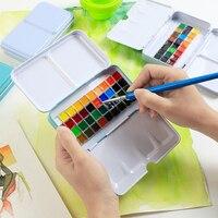 Цвет распределение Cotman24 Цвет распределения твердых Цвет 40 Цвет товары для рукоделия