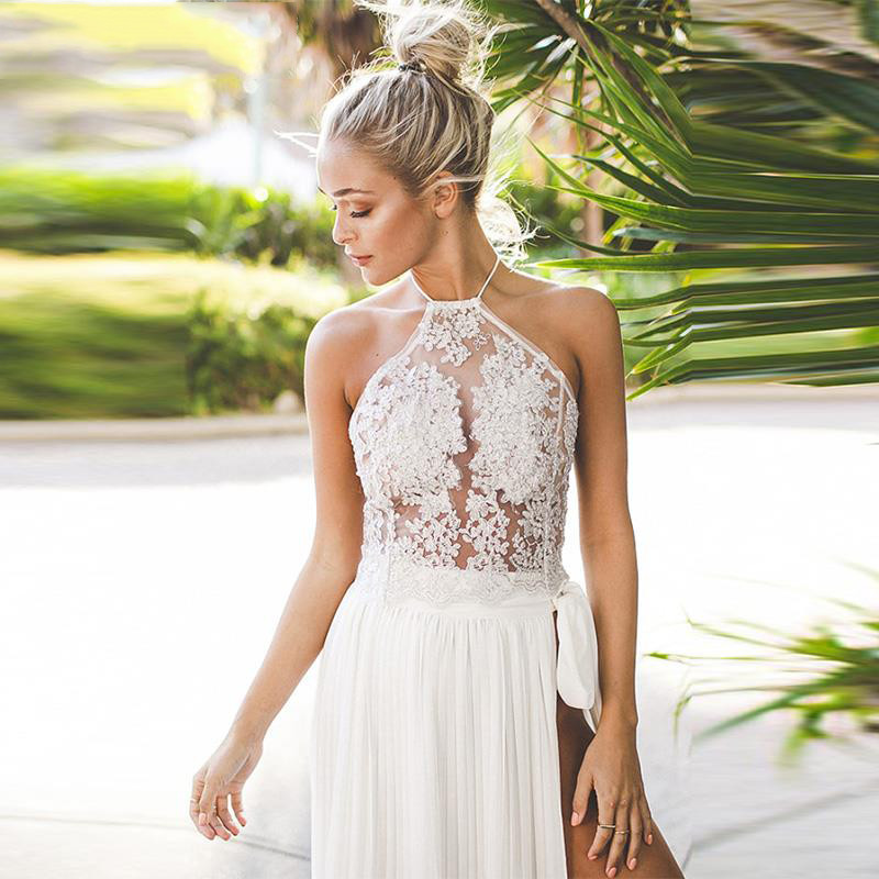 2016-New-Fashion-Elegant-white-lace-crop-top-Summer-beach-backless-short-halter-tops-Sexy-camis (2)