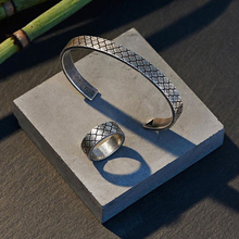 Punk Joyería Neto Para El Partido Anillo de Los Hombres de Tamaño 7 y 9 cable de malla de acero titanium del brazalete de la joyería de la joyería 316 anillo northskull para hombres