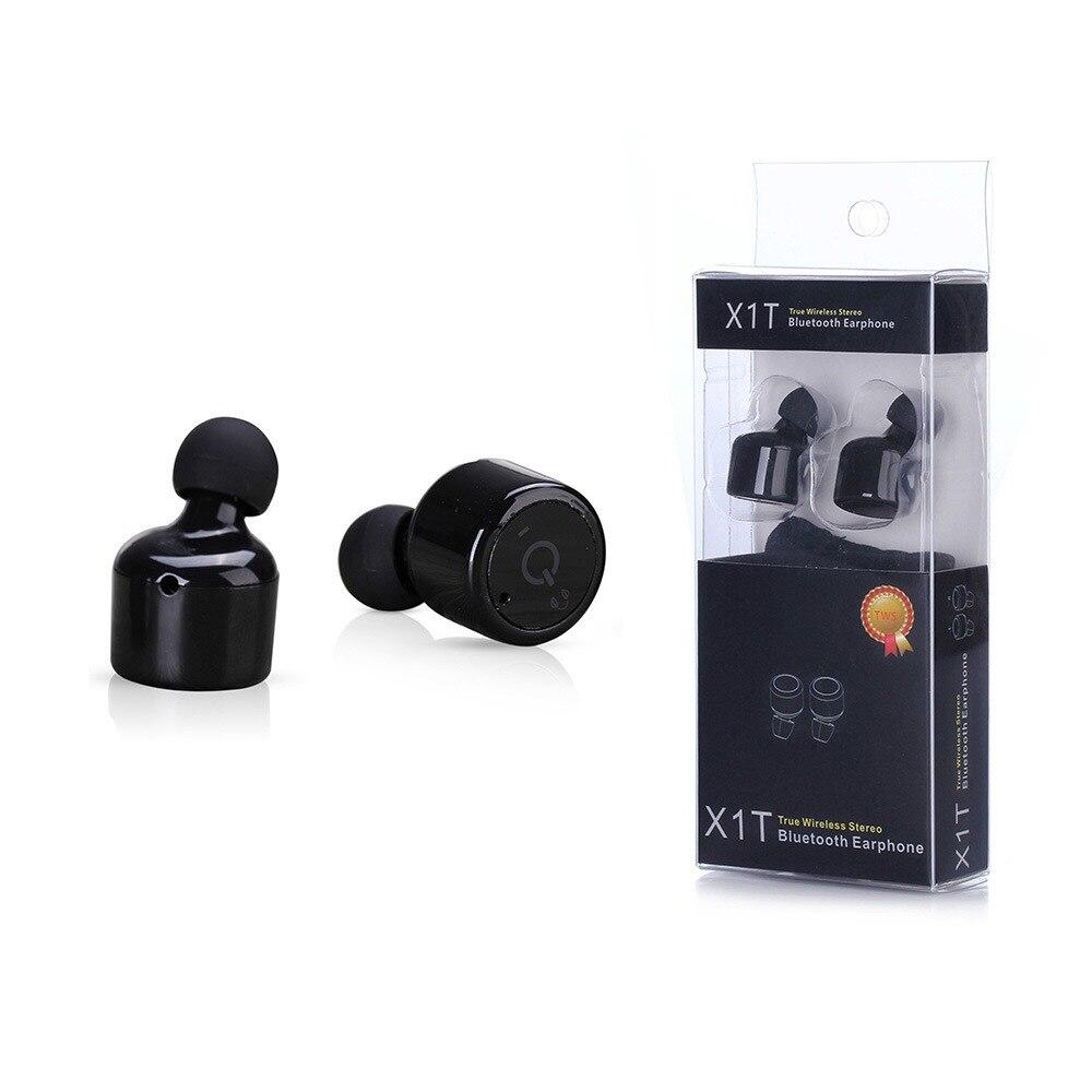 X1T Voice Prompt True In-Ear Earbuds True Wireless Earphones CSR 4.2 Sport Stereo Bluetooth Earphone