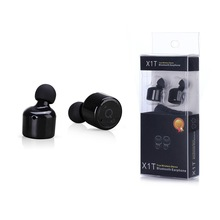 Голосовые Подсказки True In-Ear Наушники Правда Беспроводные Наушники X1T КСО 4.2 Спорт Стерео Bluetooth Наушники для iphone 7 samsung