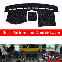 Rose Pattern For Volkswagen touran 2004 2005 2006 2007 2008 2015 Car Stickers Car Decoration Car Accessories Interior Car Decals