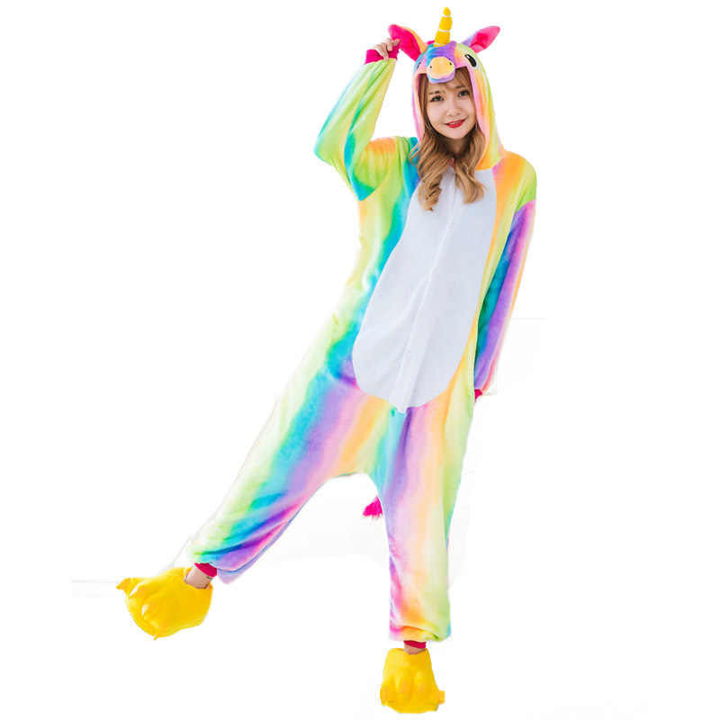 e1636ae056fb Detail Feedback Questions about winter cartoon unicorn pajama sets ...